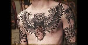 Tatouage Oiseau Homme : tatouage torse homme aigle ~ Melissatoandfro.com Idées de Décoration