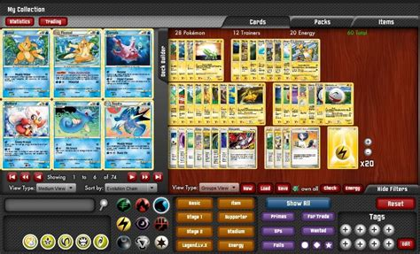 Tcg Deck Builder by New Info Tcg