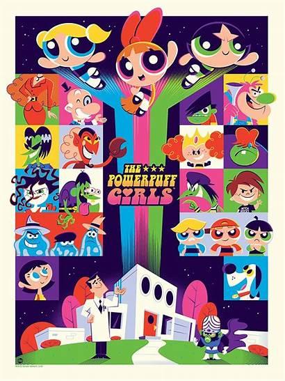 Powerpuff Posters Perillo Mondo Dave Puff Power