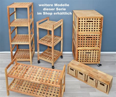 Badmöbel Holz Gitter by Badregal Flurregal Kinderregal Standregal Board Walnuss