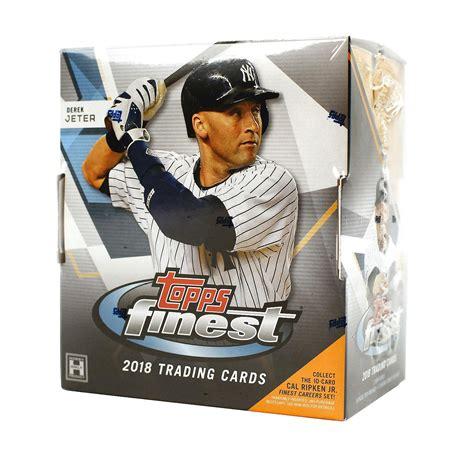 Topps Finest Baseball Hobby Box Card World