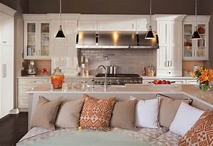 Kitchen Sofa Seating 30 Kitchen Islands With Seating And