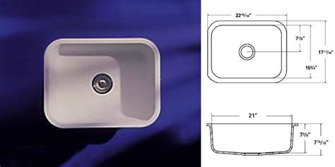Dupont Corian Sink 809 by A American Countertops Sink Models
