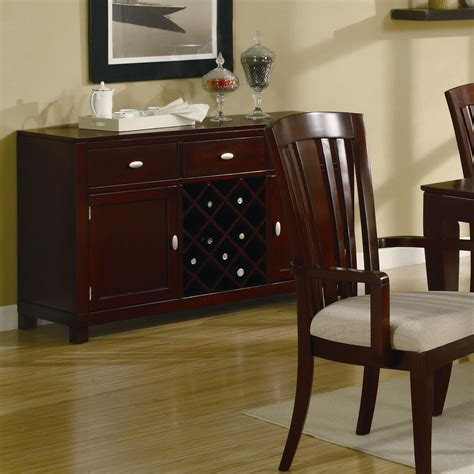 El Rey Cherry Wood Buffet Table Steal A Sofa Furniture