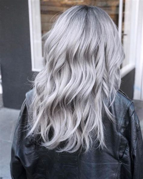 The 25 Best Silver Hair Ideas On Pinterest Gray Silver