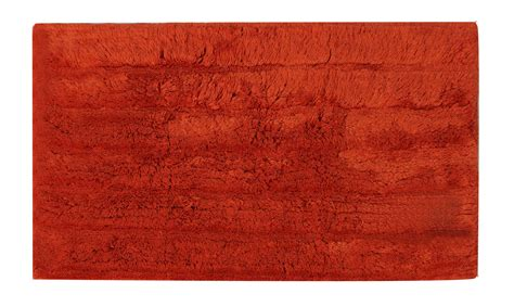 burnt orange bathroom rugs bliss tufted bath mat burnt orange bath mats fishpools