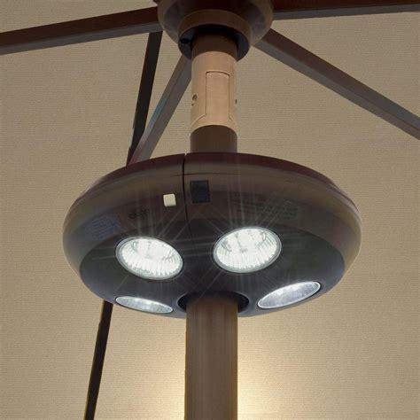 led umbrella lights island umbrella 4 light rechargeable led umbrella light