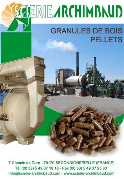 granul 233 s de bois pellets archimbaud magazine et portail francophone des bio 201 nergies
