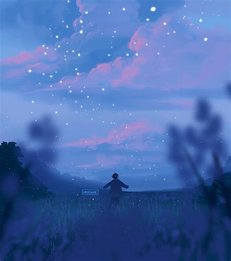 inspirationally sane by and anime scenery
