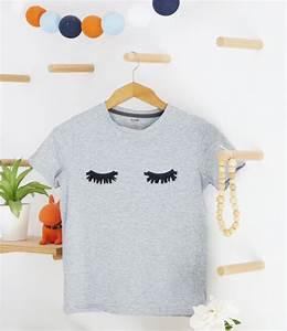 Tee Shirt A Personnaliser : diy le tee shirt cils broderie diy tee shirt ~ Dallasstarsshop.com Idées de Décoration