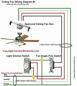 How To Wire Ceiling Fans And Switches