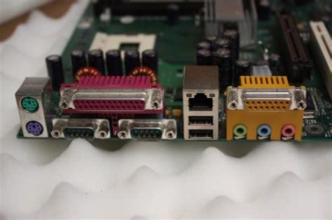 fujitsu siemens scenic s2 d1332 d11 w26361 w48 02 motherboard socket 478 i o plate