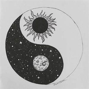 sun moon art | Tumblr