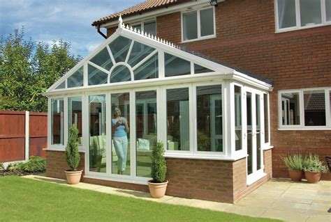 Conservatory : Gable Fronted Diy & Selfbuild Upvc Conservatory Designs