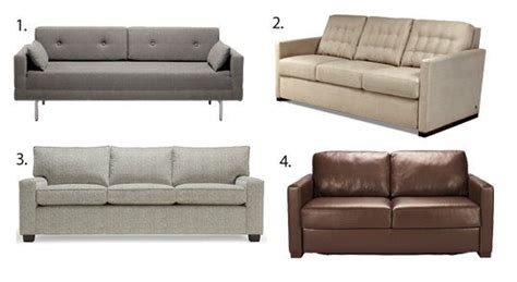 Apartment Therapy Leather Sofa by 25 Best Ideas About Best Sleeper Sofa On