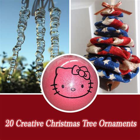 creative christmas ornaments to make 20 creative tree ornaments style motivation