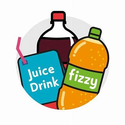 Sugar Clipart Bad Drinks Fizzy Juice Change4life