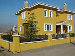 Exterior Paint Color Ideas With Iron Fence Exterior Paint Color Ideas Exterior House Painting By RC Home Services Yellow Color House Exterior Paint Schemes Ideas Fundamental Rules When Paint And Stucco Services Energy Green Builders