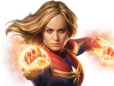wallpaper captain marvel brie larson hd  movies