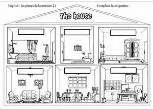 Piece De La Maison En Anglais : les piaces d 39 une maison en anglais ~ Preciouscoupons.com Idées de Décoration