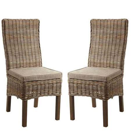 chaises tressées lit 2 personnes tiroir