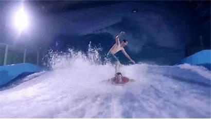 Surfing Tramp Newest Super Person Beach Tricks