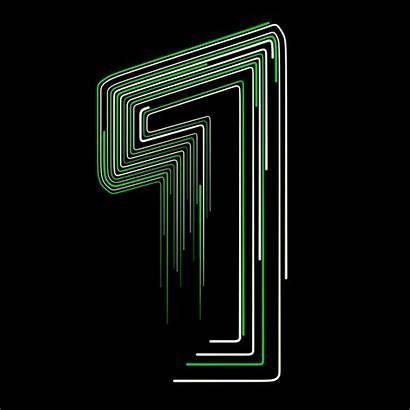 Number Behance Lines