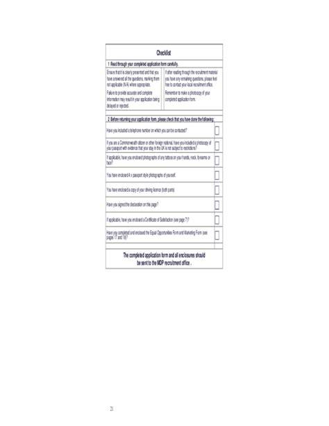 ministry of defence application form united kindom free