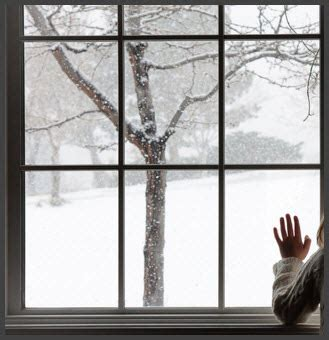 open the window so i can smell the snow head in my hands