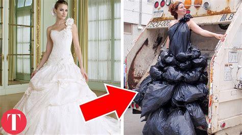 Wedding Dresses For Women : 10 Bizarre Wedding Dresses Women Actually Wore