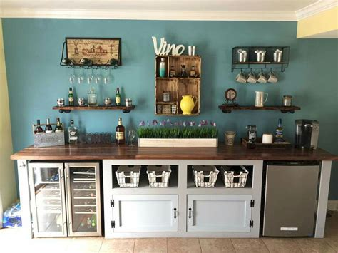 Do you find designing your very own coffee bar a challenge? 35 DIY Mini Coffee Bar Ideas for Your Home   Coffee bar home, Bar furniture, Coffee bar design
