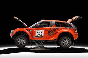 Bowler EXR rally car and EXR S road car powered by Land Rover