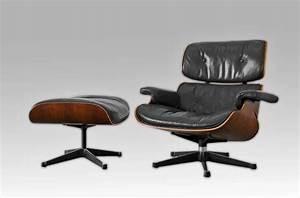 fauteuil lounge chair de charles eames le magazine de proantic With tapis design avec canapé charles eames