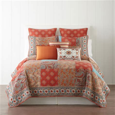 jcpenney bedding quilts jcpenney home morocco quilt jcpenney