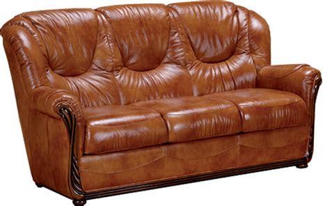 housse canapé bz canapé cuir 3 places stylisé lucia mobilier salon meuble