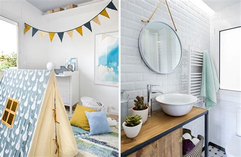 grey kids room  scandinavian bathroom