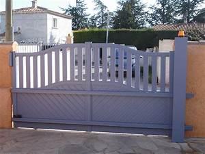 Modele De Portail Coulissant : portail aluminium coulissant mod le enez partie basse ~ Premium-room.com Idées de Décoration