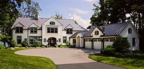 Midwest Lake House by A Gorgeous Farmhouse Style Home On Big Cedar Lake