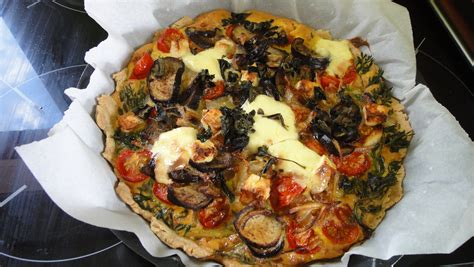 recette ferme de la mare des rufaux quiche aubergine tomate cerise feta fanes de carottes la