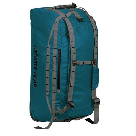 granite gear packable rolling duffel bag 30 save 44