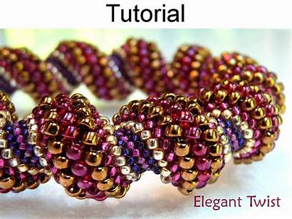 Beading Peyote Stitch Bead Bracelet Pattern Tutorial