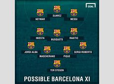 How Barcelona and Atletico could line up Spain 20