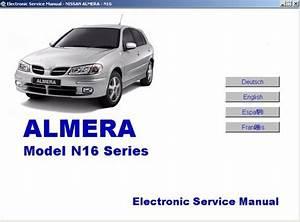 Nissan Almera N16 Series Electronic Service Manual 2000-2001