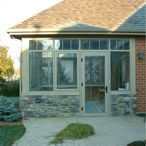 residential curtain wall system room from solar innovations