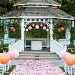 outdoor wedding venues nj 8 ways to decorate the court garden gazebo budget