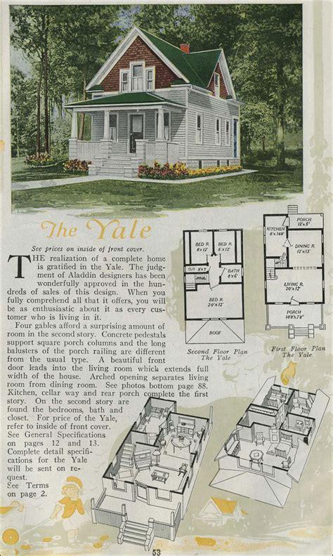 house plans aladdin kit houses yale american