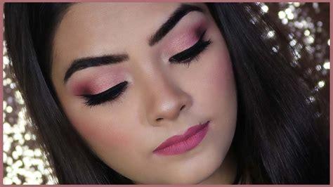 pink gold eye makeup tutorial rademakeup
