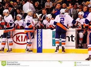 New York Islanders bench editorial stock photo. Image of ...