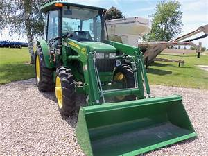 John Deere 5055e With 553 Loader 55 Engine Hp 45 Pto Hp