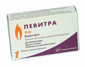 Левитра таб.о 20 мг 4 - инструкция